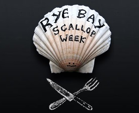 Rye Bay Scallop week Saturday 22nd February – Sunday 1st March 2020