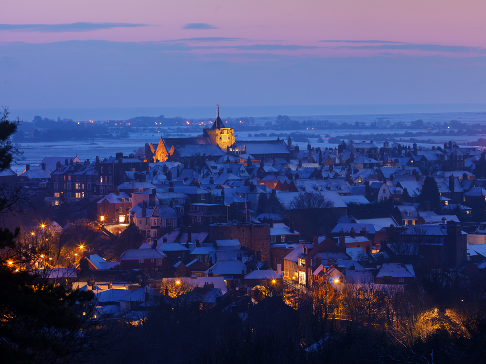 Picture of Rye taken by Clive Sawyer