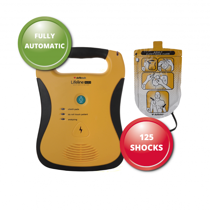 fully automatic defib actual model may differ
