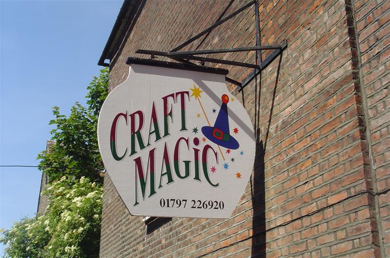 Craft Magic Rye just off the high street near Adams
