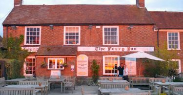 Ferry Inn Pub Stone in Oxney